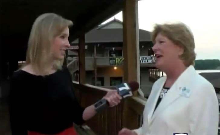 Video still of WDBJ7 reporter Alison Parker (left)