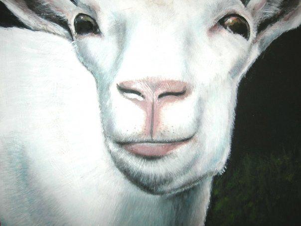 Goat Simone Manley @Simbotic