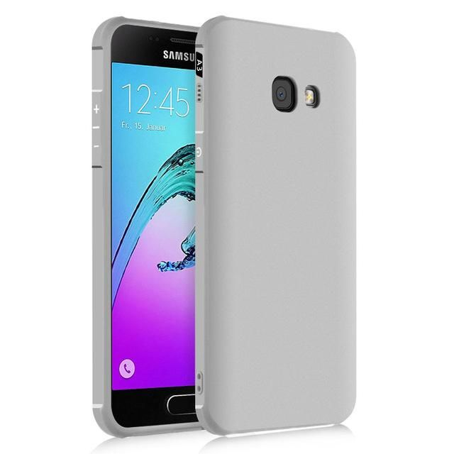 Case For Samsung Galaxy A5 2017 A7 2017 Luxury 3d Silicon Scrub Rubber Back Phone Cover For Samsung A5 2017 Case A520 A3 In 2021 Samsung Galaxy Phone Cover Galaxy