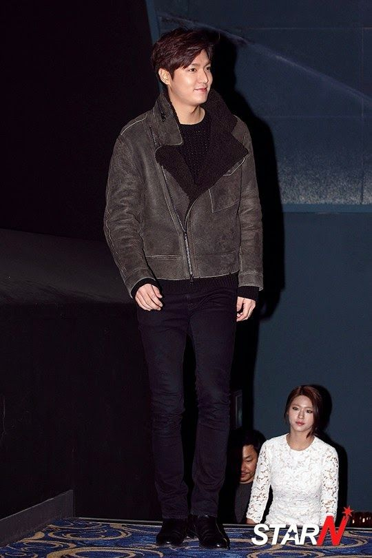 """Lee Min Ho - """"Gangnam Blues"""" Stage Greeting in Bupyeong - 18.01.2015"""