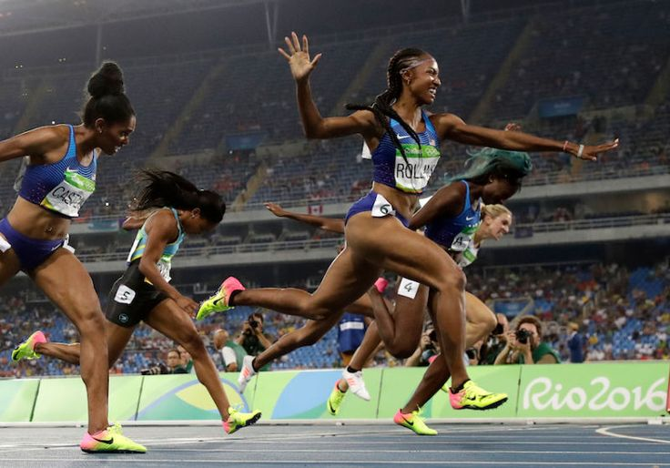 All Three American Women Just Swept In the 100m Hurdle, Making Olympic History