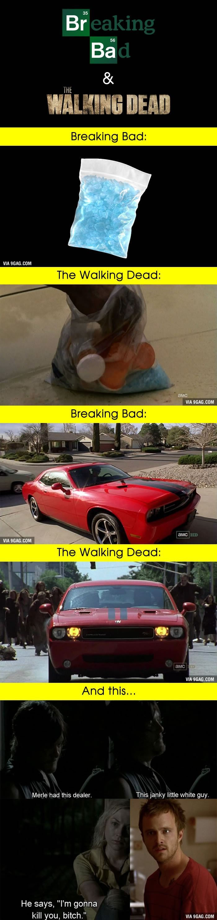 "This 100% Proves That ""Breaking Bad"" & 'The Walking Dead' Are Related"