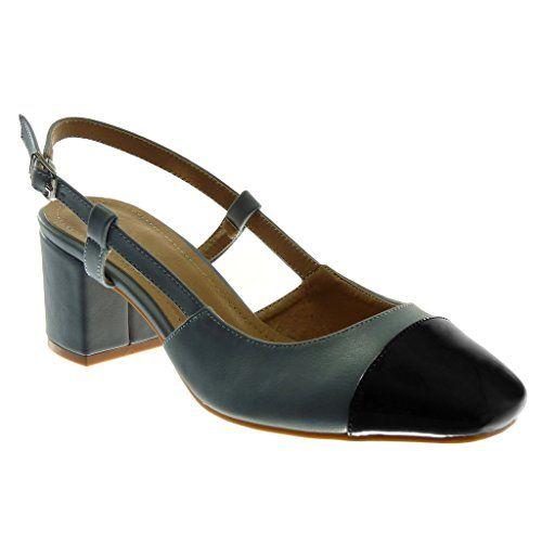 Sandale Ouverte Decolleté Escarpin Angkorly Chaussure Mode Arrière PkXZuTwOil