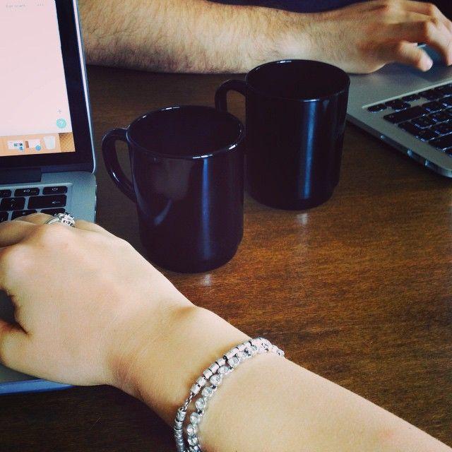 Pausa caffè #coffee #break #workhard #ikea #cups