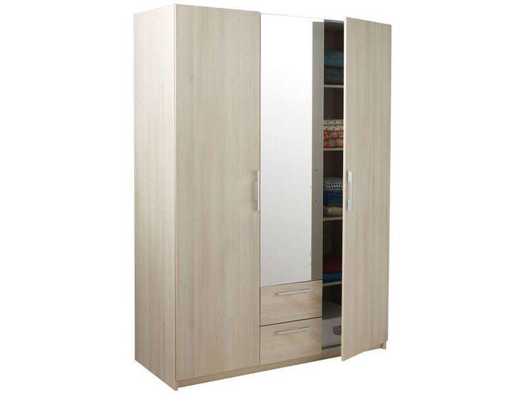25 best ideas about armoire 3 portes on pinterest for Armoire de chambre conforama
