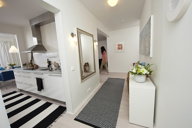 black and white carpets by Homecrafts.  www.homecrafts.fi