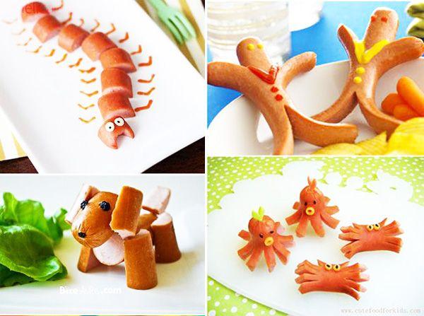 Как приготовить сосиски для детей. Глядите, да это же сосиски!