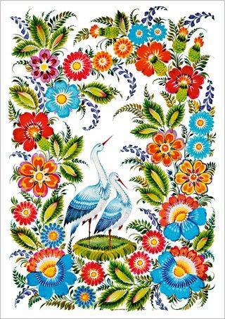 """Купить открытки """"Украинский колорит"""""""