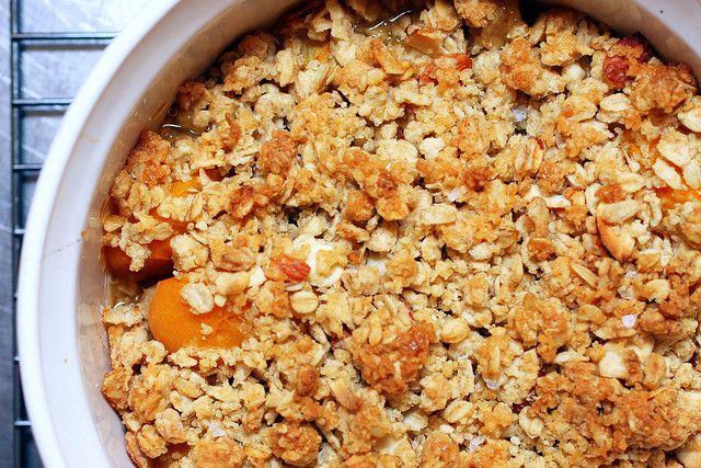 Breakfast Apricot Crisp, by smitten, via Flickr