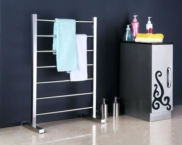 free standing electric towel rails for bathrooms