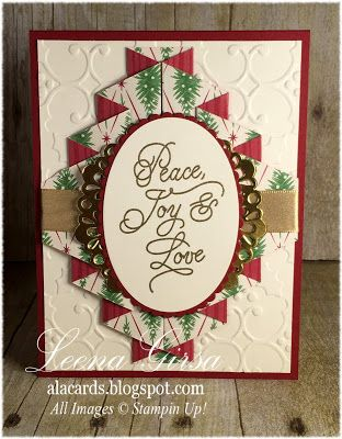 A La Cards: 12 Days of Christmas in July Day 9