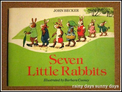 Today's featured product: Seven Little Rabbits (Vintage Children's Books) http://rainydayssunnydays.com