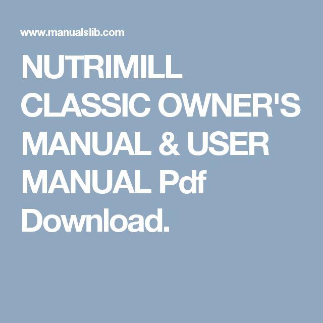 Nutrimill artiste | nutrimill.