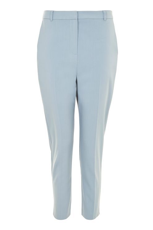 PETITE High Waisted Cigarette Trousers