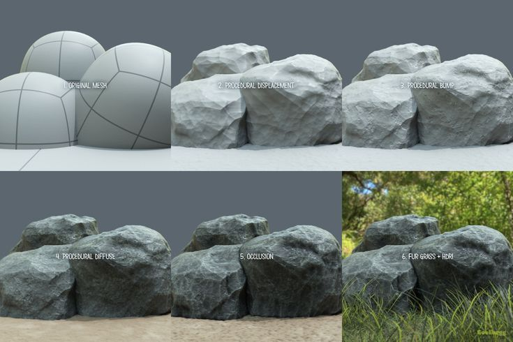 ArtStation - Procedural textures in Modo, Martin Guldbaek