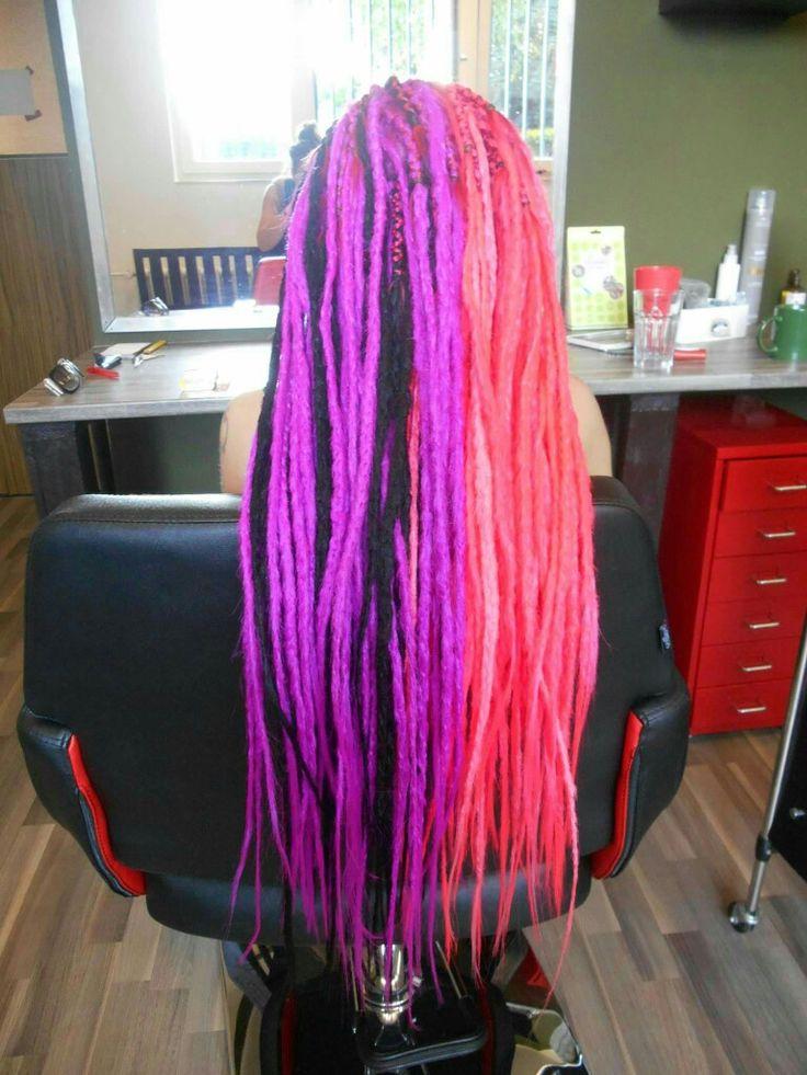 Cool pseudo dreads #dreadhead