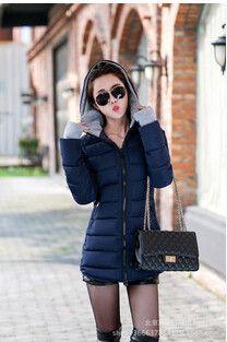 Women's padded coat 2017 Winter jacket Women Long Down Cotton Women's jackets winter jackets and raincoats Plus Size