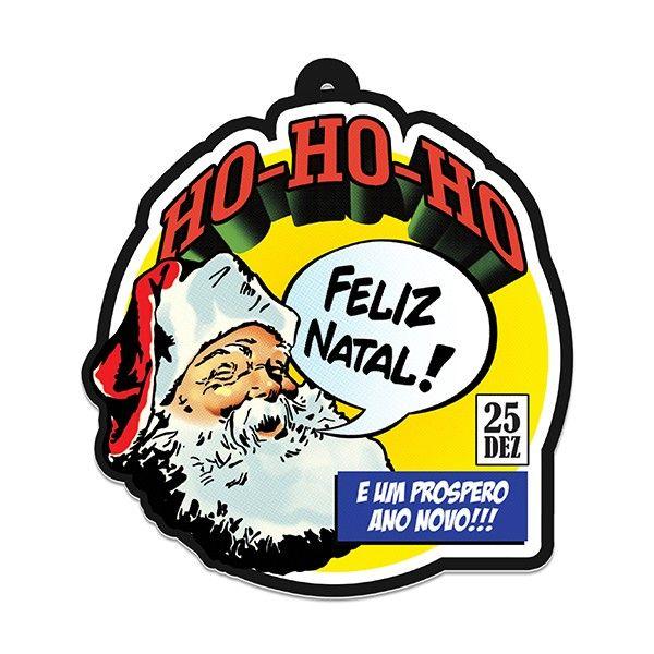 Guirlanda de Natal Papai Noel Comic Book