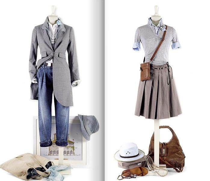 Нескучный повседневный гардероб. Каталог весна-лето 2009 от Brunello Cucinelli —