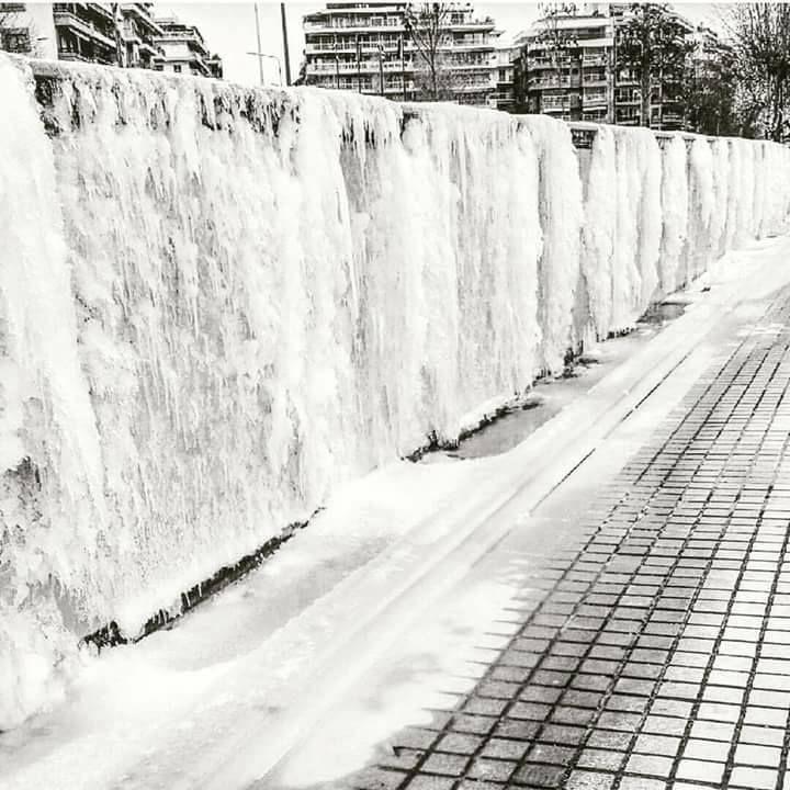 Frozen Thessaloniki 7/1/2017