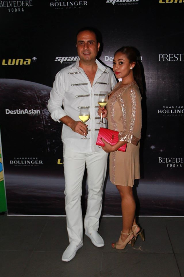 #Lunafriends #Spacechampagne&caviar #launch #party @CetinCandan  @Luna2 #friends #Seminyak #Bali