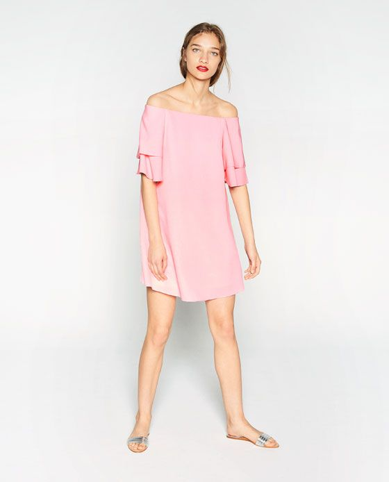 Image 1 of FRILLED DRESS from Zara