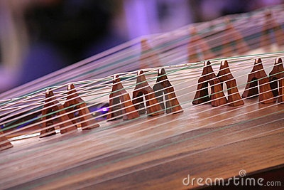 Koto instrument by Feng Yu, via Dreamstime