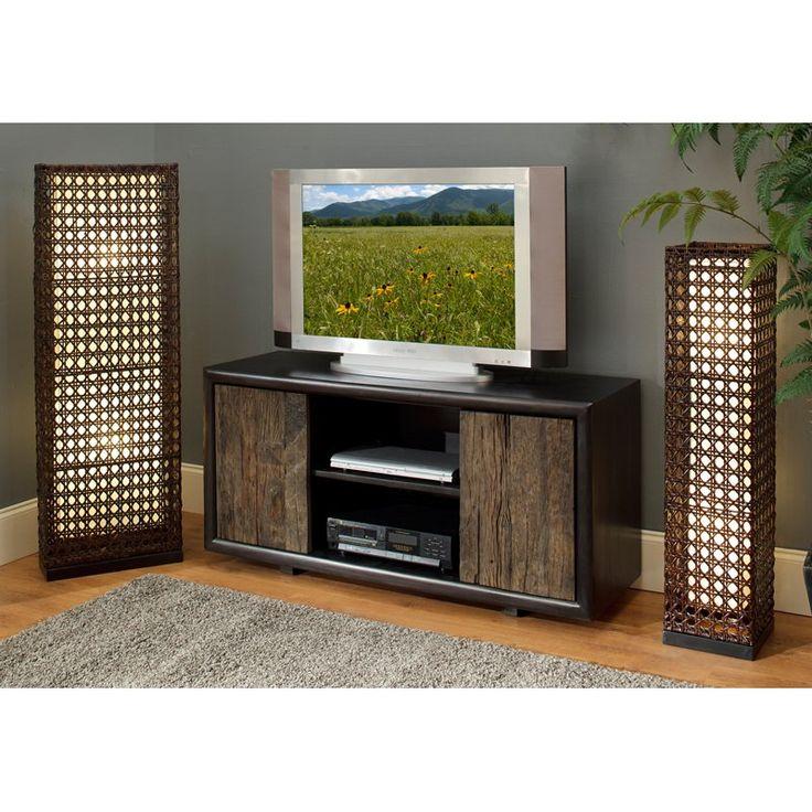 Have to have it. Karel Acacia Black TV Cabinet - $1744.35 @hayneedle.com