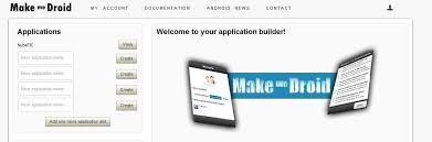 Crea gratis tu propia aplicación para móviles. http://www.makemedroid.com/en/