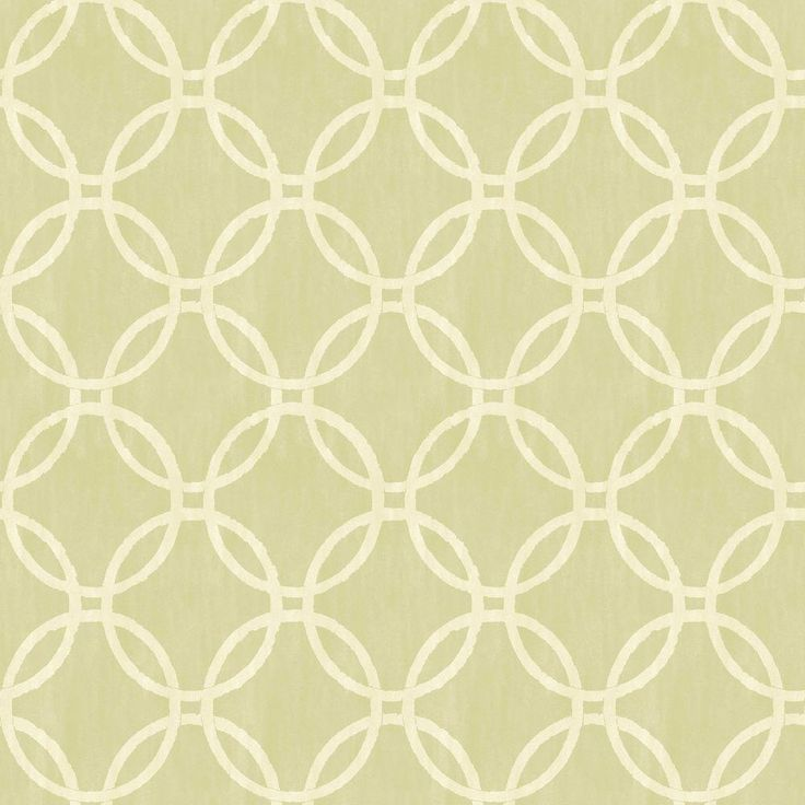 Beacon House Ecliptic Green Geometric Wallpaper Sample
