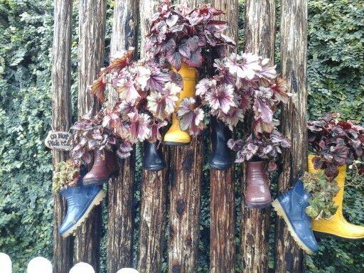 Pot shoes