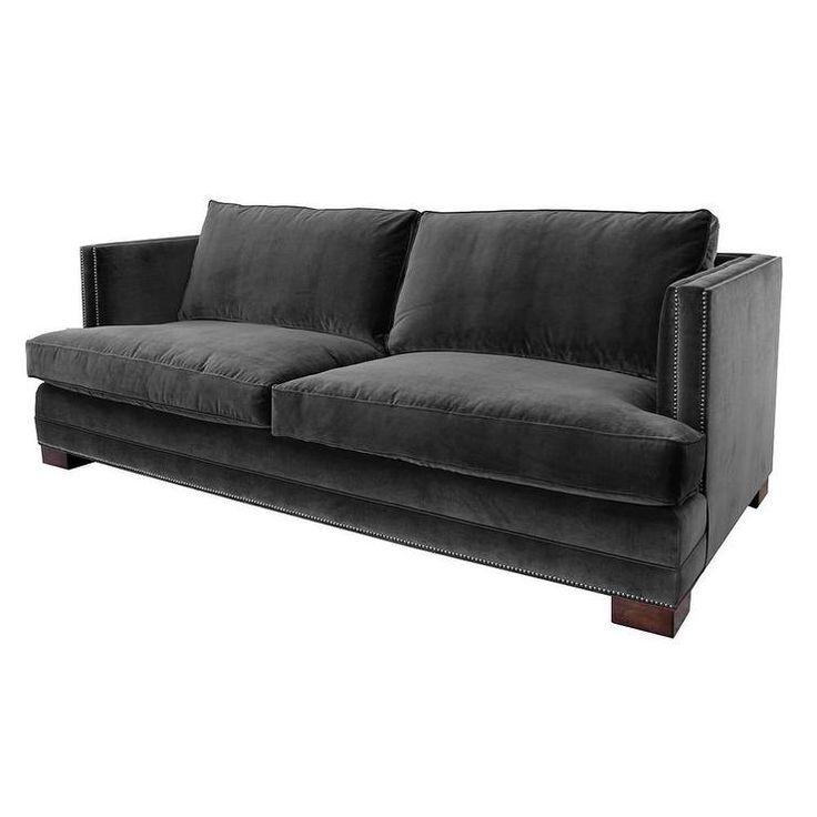 Best South Beach Charcoal Gray Sofa Beach Sofa Sofa Offers 640 x 480