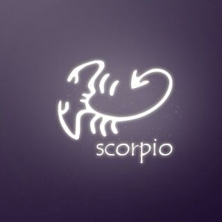 Scorpio tattoo, like the shape of the scorpion