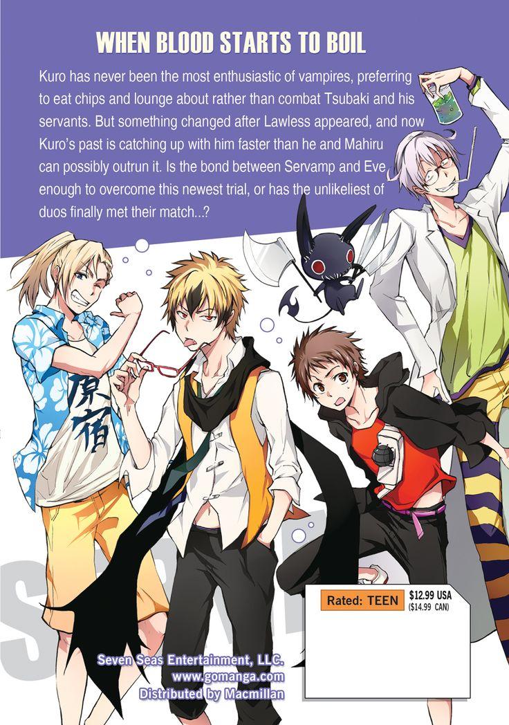 Servamp Manga Volume 6