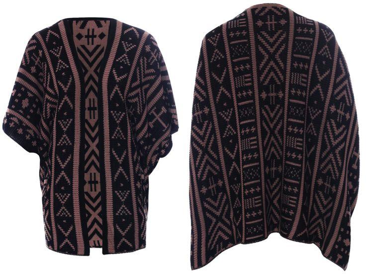 Boxy Kimono Pocket Cardigan R650