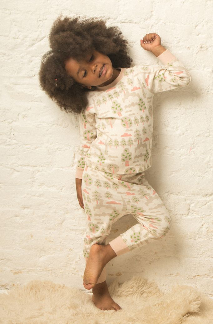 A gorgeous selection of organic children's pyjamas Australia. Fairtrade and ethically made. Comfortable children's organic pyjamas that your kids will love to wear.