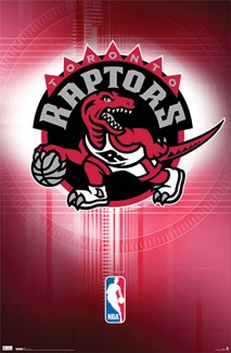 Toronto Raptors Official NBA Logo Poster - Costacos Sports