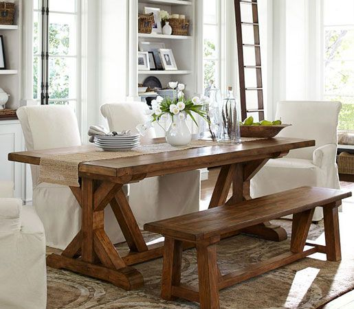 Pottery Barn: Wells Extending Dining Table