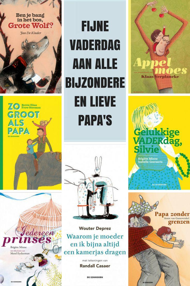 Leesideetjes voor papa's en hun kindjes. Ideale cadeautjes voor vaderdag, of gewoon gezellig lezen met papa.