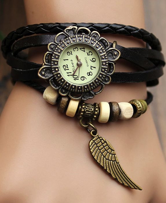 I don't usually wear a watch, but I would check the time so I could wear this.