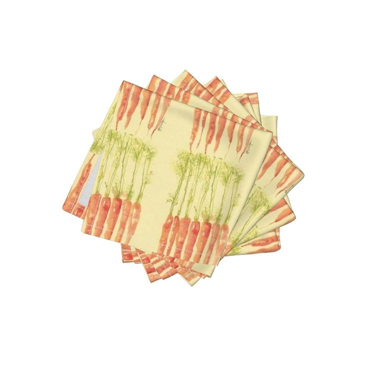 Frizzle Cocktail Napkins featuring Bumper_Crop by wildflowerfabrics | Roostery Home Decor