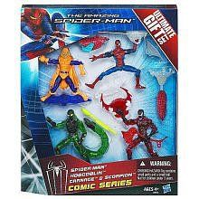 This Ultimate Gift Set has everything you need for a truly spectacular showdown between your web-crawling hero and his arch-enemies! Pit your SPIDER-MAN figure against your HOBGOBLIN, CARNAGE and SCORPION figures. Will he and his weapons be enough to overcome these super villains and their tools... more details available at https://perfect-gifts.bestselleroutlets.com/gifts-for-holidays/toys-games/product-review-for-the-amazing-spider-man-comic-series-ultimate-gift-set/