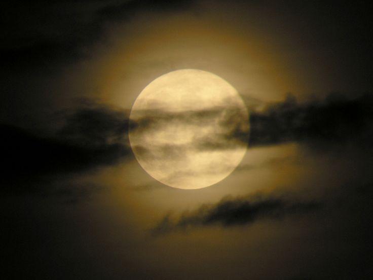 paseo campo noche luna llena