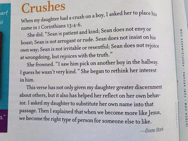 Quoting Quiverfull: Judging Your Crush By The Bible?