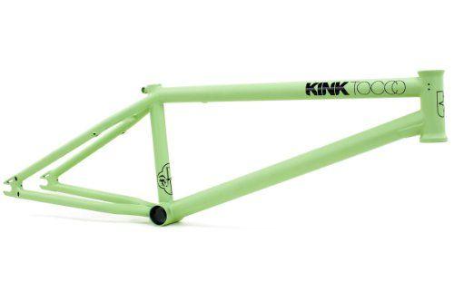 BMX Frames - Kink BMX Tocco II Frame Mint Green 205Inch >>> You can get additional details at the image link.