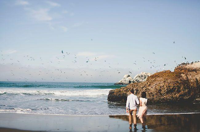 Cassy & John's engagement photo session #weddingblog
