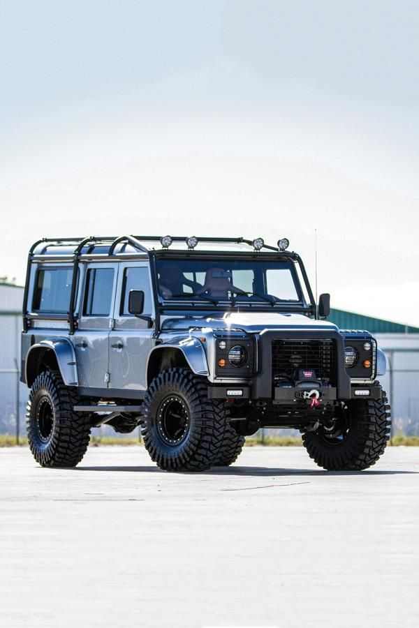 Project Viking Custom Land Rover Defender Is Ready For Adventure Land Rover Defender Land Rover Land Rover Models