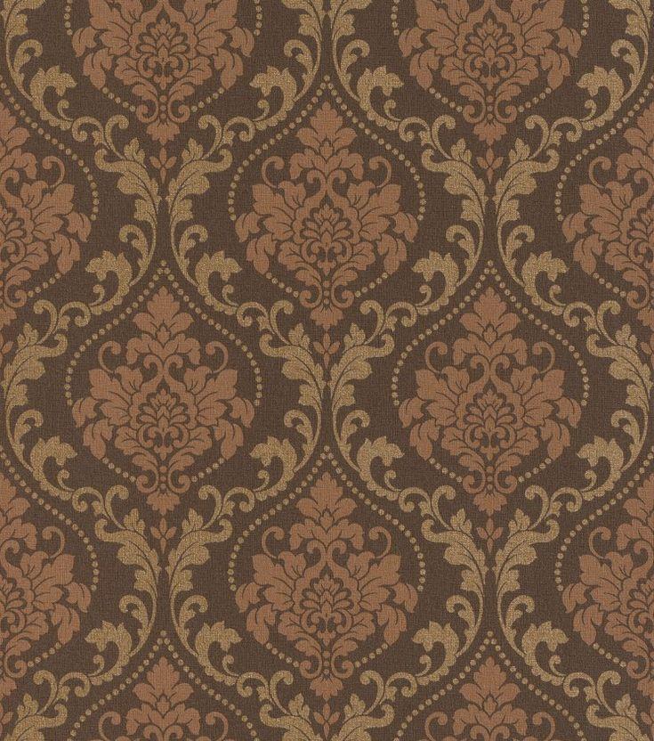 Tapeten Braun Beige Muster. Rasch Textil Vista 5 23-213811 Raffia