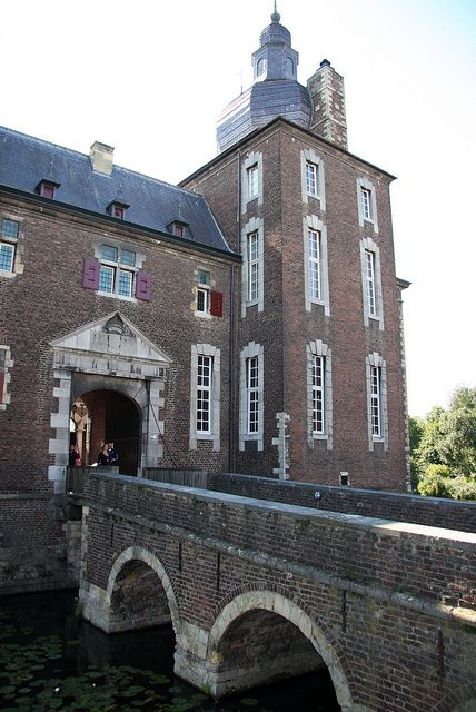 The castle of Hoensbroek, the Netherlands