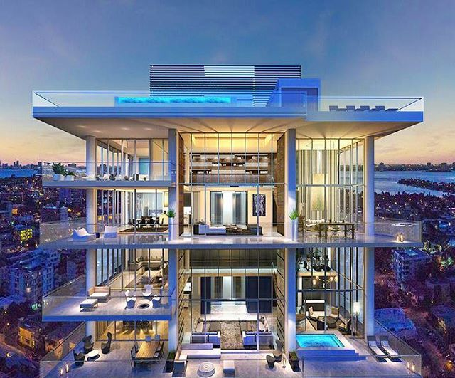 L Atelier Miami Beach Penthouse Listed For 33 000 000